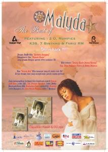 Poster Album Malyda