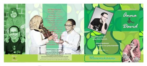 CD Kompilasi A&D + Cover (Wedding Souvenir)
