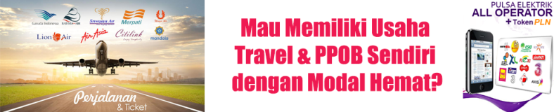 Bisnis Travel Online & PPOB